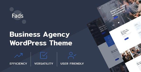 Fads - SMM Agency WordPress Theme