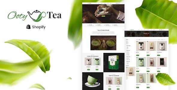 Ooty - Organic Tea Store Shopify Theme