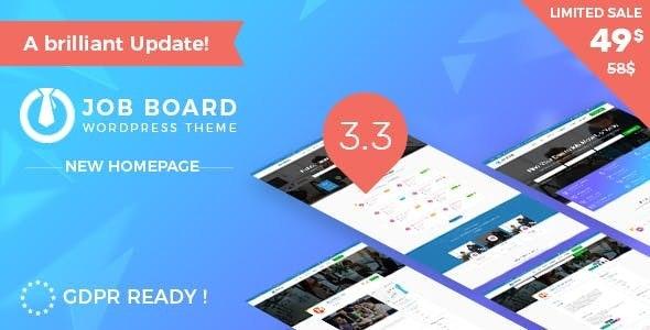 InJob | Multi features for recruitment WordPress Theme - WordPress
