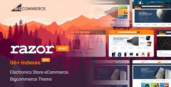 Razor -  Electronics Store Bigcommerce Theme - BigCommerce eCommerce