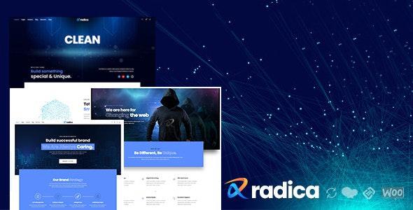 Radica - Creative MultiPurpose WordPress Theme - Corporate WordPress