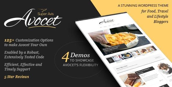 Avocet - Lifestyle & Fashion blog theme