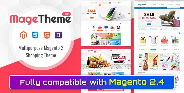 MageThemePRO - Responsive Magento 2 Shopping Template - Magento eCommerce