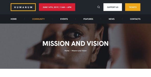 Humanum - Human Rights WordPress Theme