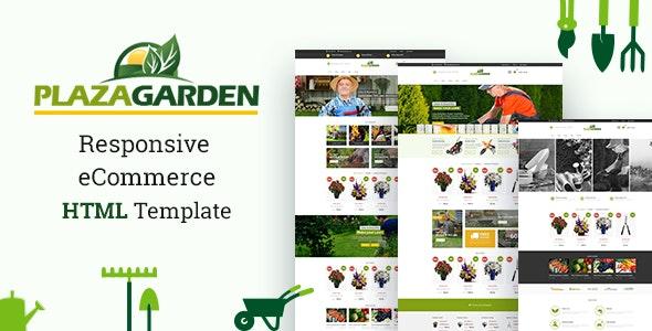 Plaza garden - Responsive eCommerce HTML Template - Shopping Retail