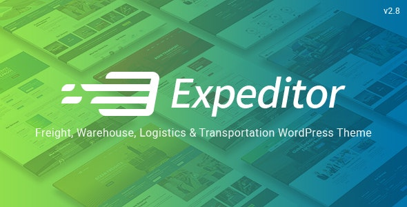 Expeditor - Logistics & Transportation WordPress Theme - Business Corporate
