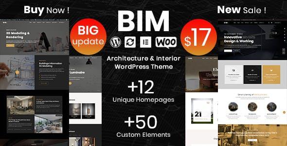 Download BIM - Architecture & Interior Design Elementor