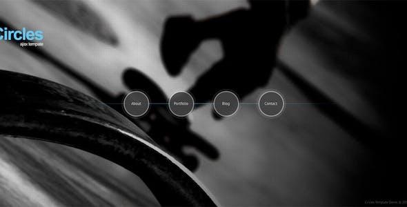 Circles - Ajax Portfolio Template