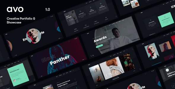 Avo - Creative Agency & Showcase Portfolio