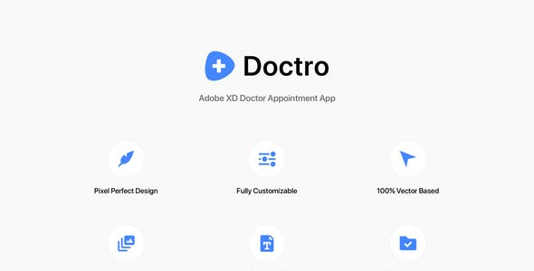 Doctro - Adobe XD Doctor Appointment App