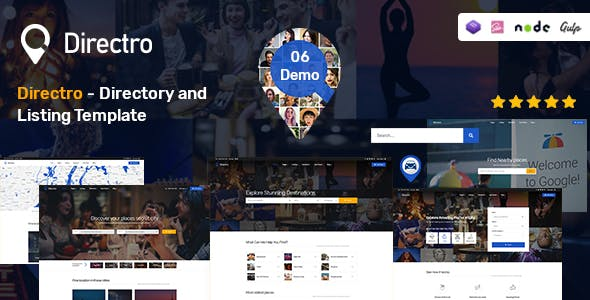 Directro - Directory and Listing Template