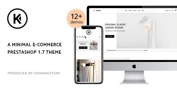 Kabar - Minimal Prestashop 1.7 Theme - PrestaShop eCommerce