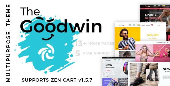 Goodwin - Premium Multipurpose Zen Cart Theme