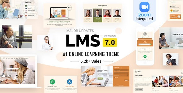 LMS WordPress Theme - Education WordPress