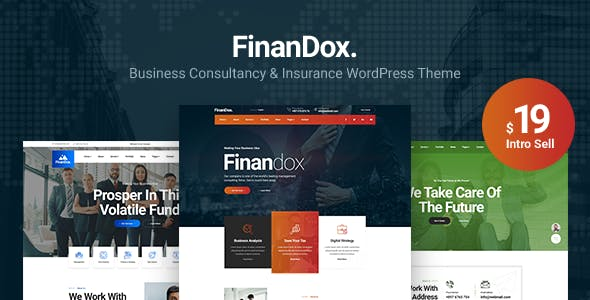 Download FinanDox - Business Consulting WordPress Theme