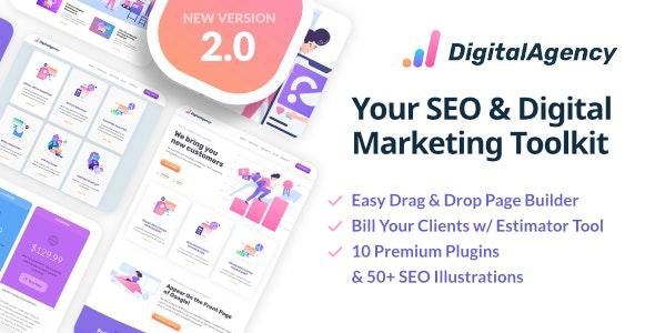 SEOWP   SEO & Digital Marketing WordPress Theme - Marketing Corporate