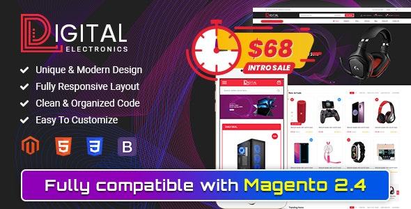 Digital - Responsive Magento 2 Shopping Theme by magentech | ThemeForest