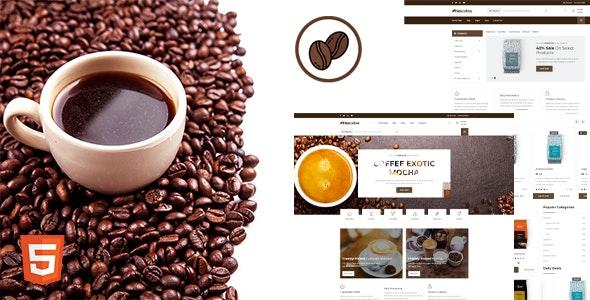Nescafew - Coffee Shop HTML Template - Restaurants & Cafes Entertainment