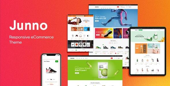 Junno - Multipurpose WooCommerce WordPress Theme - WooCommerce eCommerce