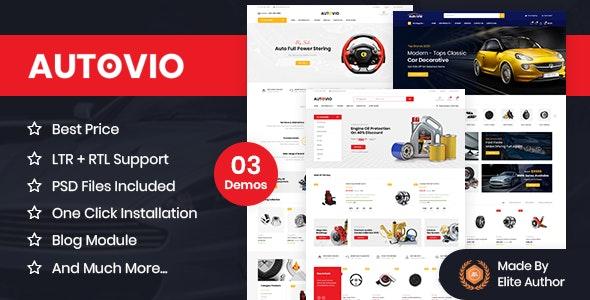 Autovio - Car Accessories, Auto Parts OpenCart Theme - Miscellaneous OpenCart