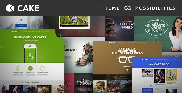 Cake - Responsive Multi-Purpose WordPress Theme - Business Corporate