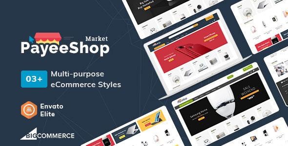PayeeShop - Stencil BigCommerce Multi-Purpose Responsive Theme - BigCommerce eCommerce
