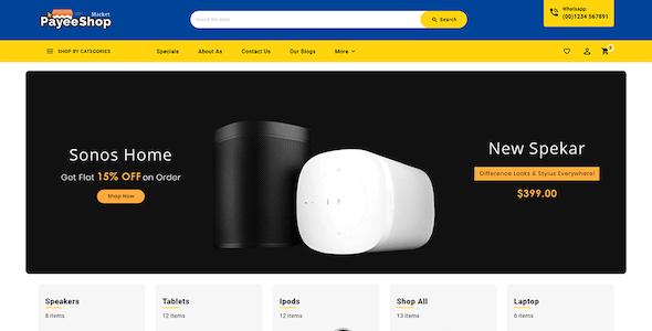 Payee Shop - Stencil BigCommerce Multi-Purpose Responsive Theme