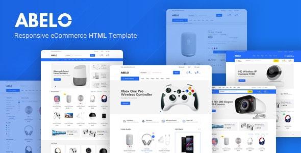 Abelo – Electronics eCommerce HTML5 Template - Shopping Retail