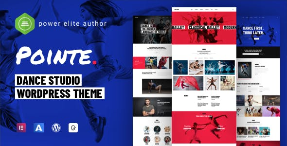 Download Pointe - Dance Studio WordPress