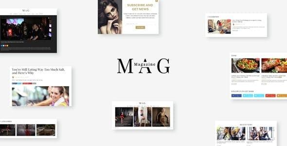 Mag   Online News & Magazine Joomla Template - Entertainment Joomla