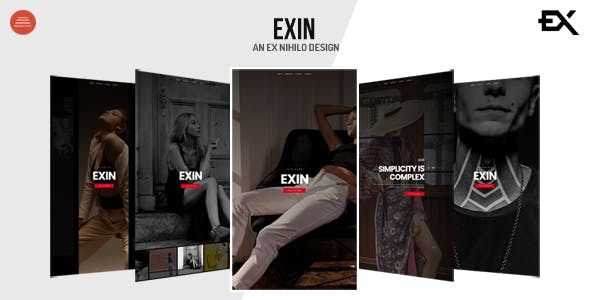 Exin - Creative Coming Soon Template
