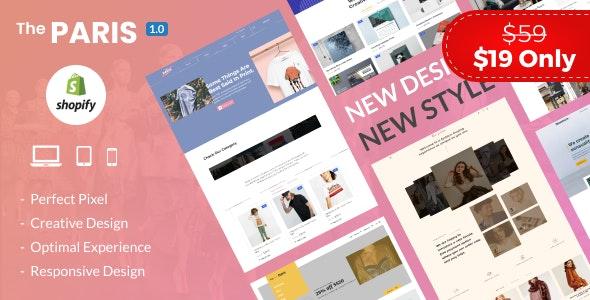 The Paris - Multipurpose Shopify Theme - Fashion Shopify