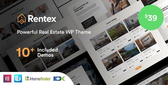 Download Rentex - Real Estate WordPress Theme
