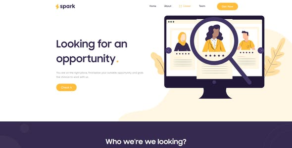 Spark Agency And Business Template