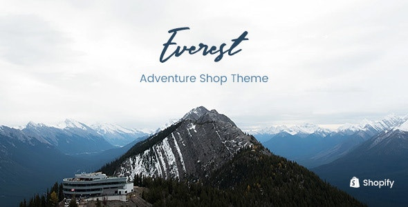 Everest - Fishing, Hunting Stores Shopify Theme - Entertainment Shopify
