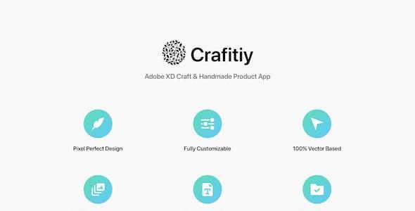 Crafitiy - Adobe XD Craft & Handmade Product App
