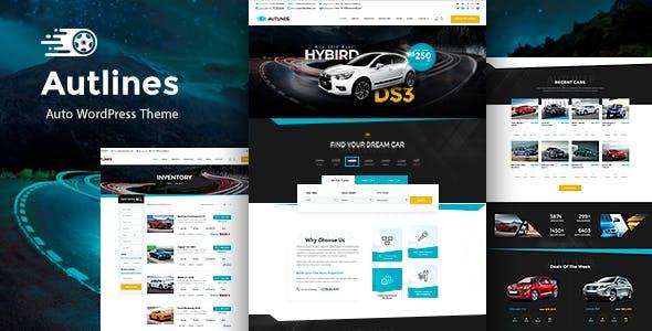 Autlines -  Automotive & Car Booking Theme