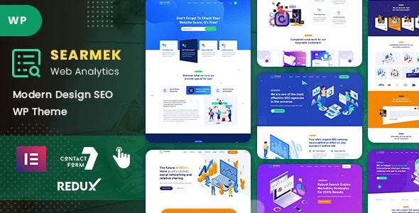 Searmek - SEO and Marketing WordPress Theme - Marketing Corporate