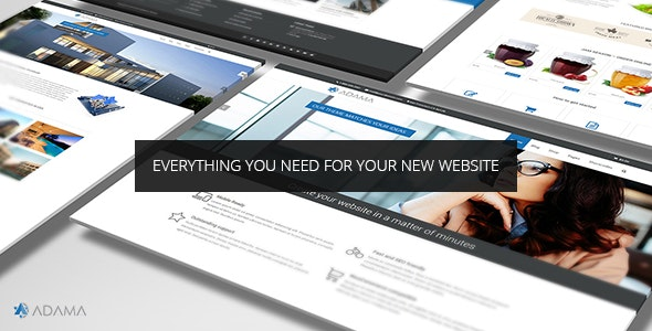 Adama - Responsive Multi-Purpose WordPress Theme - Corporate WordPress