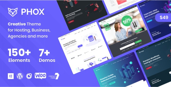 Phox - Hosting WordPress & WHMCS Theme - Hosting Technology