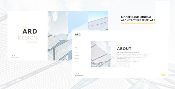 ARD - Architect | Builder Minimal Joomla Template - Business Corporate