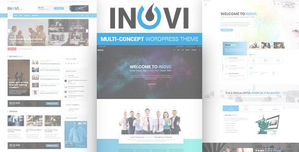 INOVI - Multi-concept WordPress Theme - Corporate WordPress