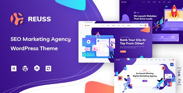 Reuss - SEO Marketing Agency WordPress Theme