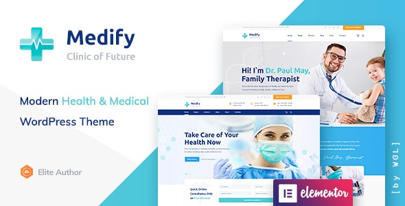 Medify - Health & Clinic WordPress Theme - Health & Beauty Retail
