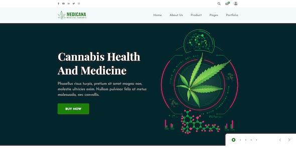 Medicana - Medical Cannabis XD Template