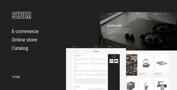 SHUM – eCommerce HTML Template