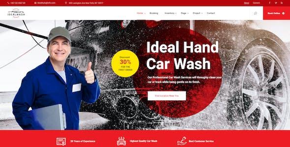 IdealAuto - Car Dealer & Services PSD Template