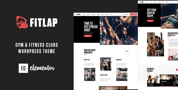 Fitlap - Gym & Fitness Club WordPress Theme - Health & Beauty Retail