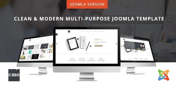 CMO - Multi-Purpose Responsive Joomla Template - Business Corporate