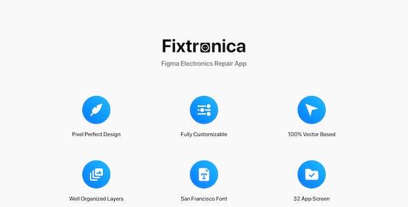 Fixtronica - Figma Electronics Repair App